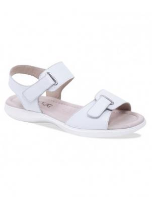 Sieviešu baltas ādas sandales CAPRICE