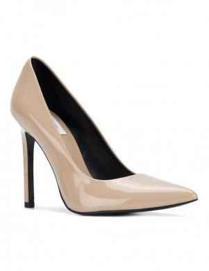 Sieviešu smilšu krāsas augstpapēžu apavi CALVIN KLEIN JEANS