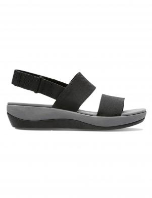 Sieviešu melnas sandales ARLA JACORY CLARKS