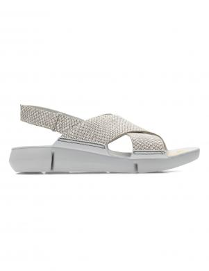 Sieviešu sudraba sandales TRI CHLOE CLARKS