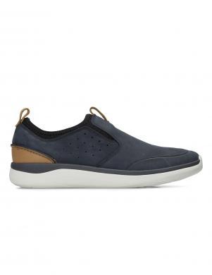 Vīriešu zili apavi GARRATT SLIP CLARKS