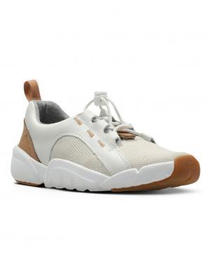 Bērnu baltas krāsas kurpes ar gumiju CLARKS
