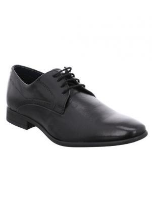 Vīriešu melni klasiski apavi DANIEL HECHTER