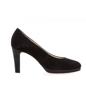 Sieviešu melni eleganti apavi GABOR