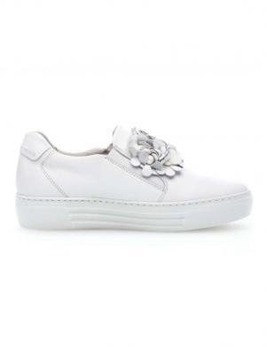 Sieviešu balti brīva laika apavi GABOR