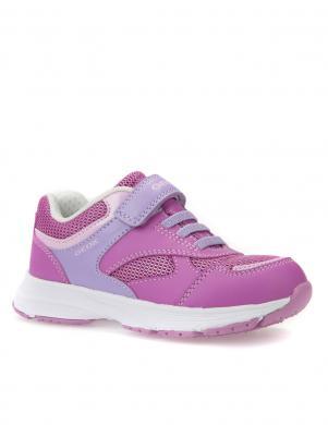 Bērnu rozā apavi ar velkro aizdari J HOSHIKO GIRL GEOX