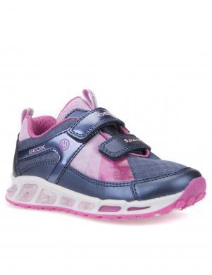 Bērnu spilgti apavi ar velkro aizdari J SHUTTLE GIRL GEOX