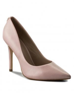 Sieviešu rozā eleganti augstpapēžu apavi GUESS