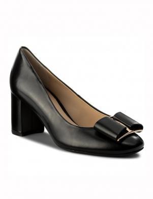 Sieviešu melni eleganti augstpapēžu apavi HOGL