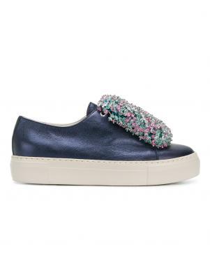Sieviešu zili apavi ar augstu zoli AGL