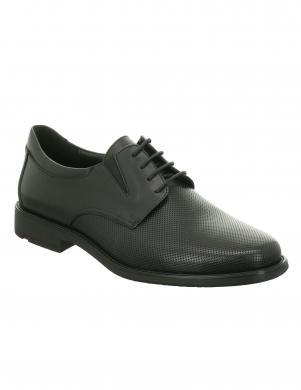 Vīriešu melni klasiski apavi LLOYD
