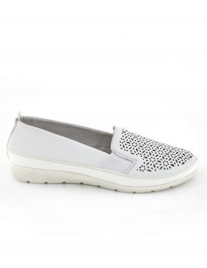 Sieviešu balti perforēti brīva laika apavi REMONTE