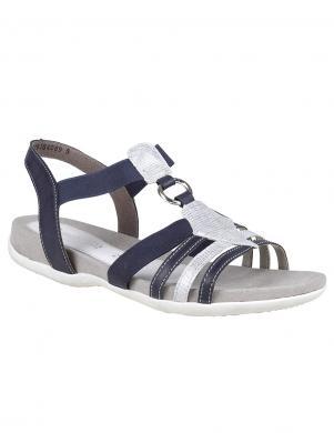 Sieviešu zilas brīva laika sandales REMONTE