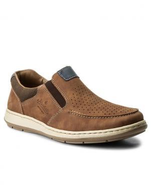 Vīriešu brūni perforēti apavi RIEKER