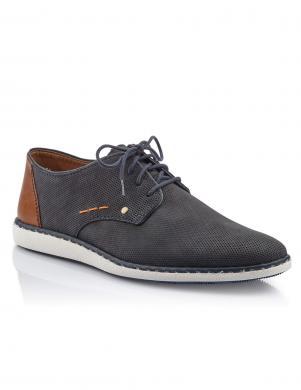 Vīriešu zili eleganti apavi RIEKER