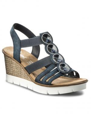 Sieviešu sandales ar augstu platformu RIEKER