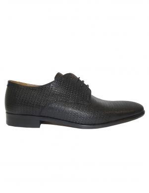 Vīriešu melni klasiski apavi SALAMANDER