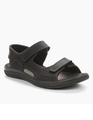Vīriešu melnas sandales SALAMANDER