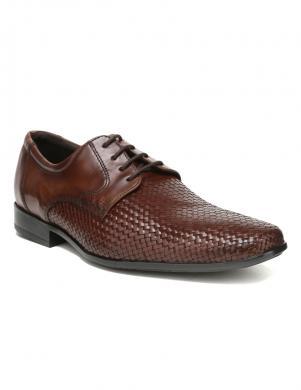 Vīriešu brūni klasiski apavi SALAMANDER