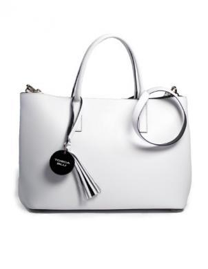 Sieviešu balta ādas soma TOSCA BLU