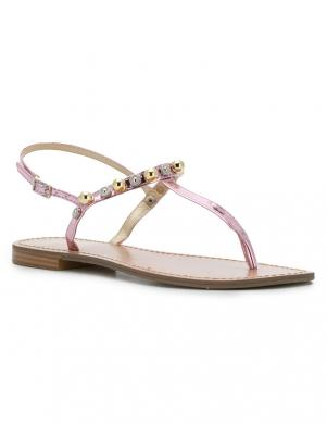 Sieviešu rozā sandales pār pirkstu VERSACE JEANS