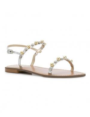 Sieviešu sudraba krāsas sandales VERSACE JEANS