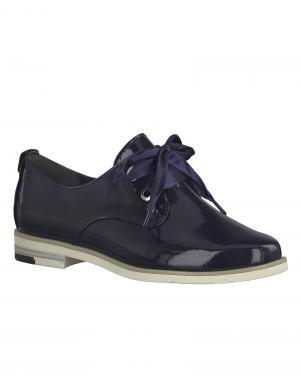 Sieviešu tumši zili lakoti klasiski apavi MARCO TOZZI
