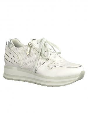 Sieviešu balti brīva laika apavi ar platformu MARCO TOZZI