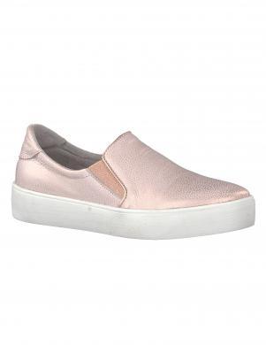 Sieviešu rozā metalizēti brīva laika apavi MARCO TOZZI