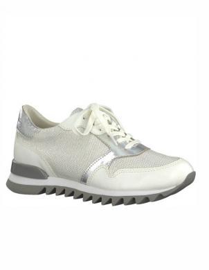 Sieviešu balti ar sudrabu brīva laika apavi SOYA TAMARIS