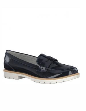 Sieviešu tumši zili lakoti apavi CRISSY TAMARIS