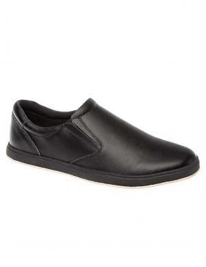 TESORO bērnu melni ādas apavi