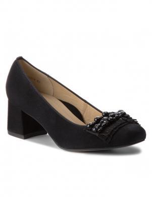 Sieviešu melni eleganti apavi ARA