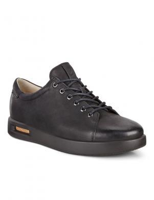 ECCO vīriešu melni šņorējami brīva laika apavi CORKSPHERE 1 M