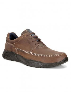ECCO LUCA vīriešu brūni ādas apavi