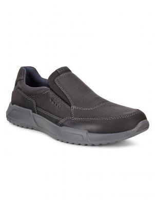 ECCO LUCA vīriešu melni ādas apavi