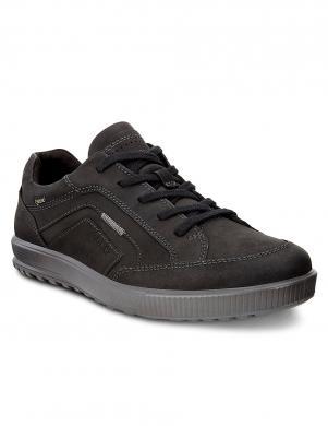 ECCO ENNIO vīriešu melni ādas brīva laika apavi GORE-TEX