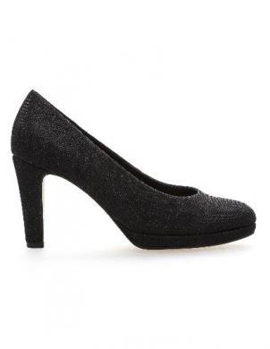 GABOR sieviešu melni spīdīgi augstpapēžu apavi