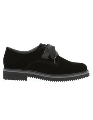 GABOR sieviešu melni samta apavi