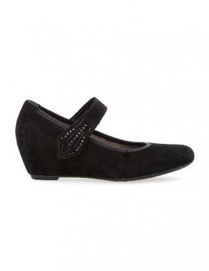 GABOR sieviešu melni eleganti apavi
