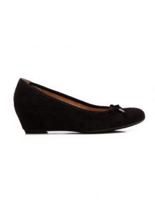 GABOR sieviešu melni ādas apavi