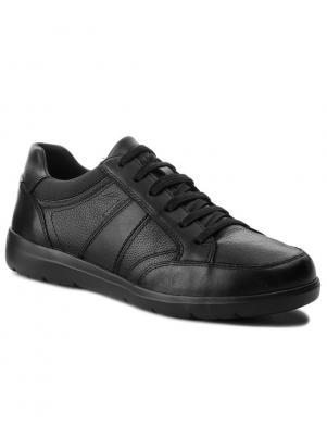 GEOX vīriešu melni brīva laika apavi LEITAN