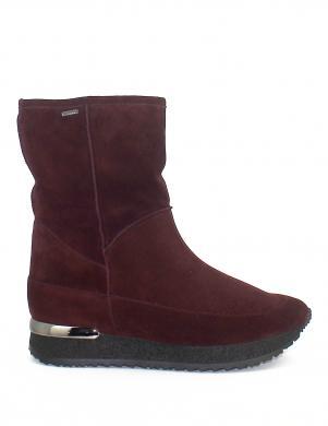 HOGL sieviešu sarkana sniega apavi ar dabigu vilnu GORE-TEX