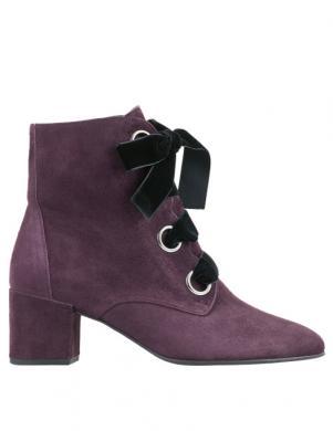 Sieviešu violeti zamšas zābaki HOGL