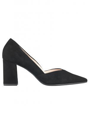 Sieviešu melni augstpapēžu apavi HOGL