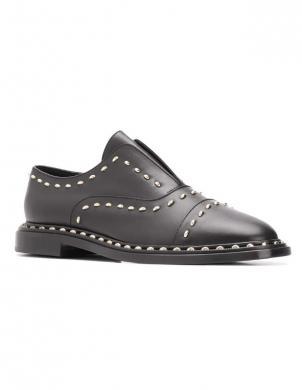 AGL sieviešu melni ādas apavi