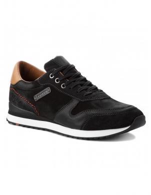 LLOYD vīriešu melni ādas brīva laika apavi