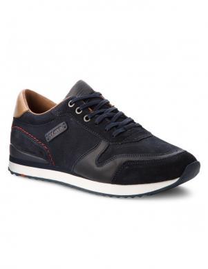 LLOYD vīriešu tumši zili ādas brīva laika apavi