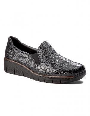 Sieviešu pilki apavi RIEKER