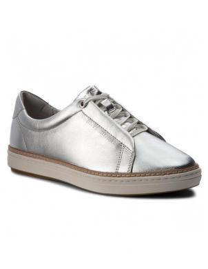 TOMMY HILFIGER sieviešu sudraba brīva laika apavi